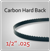 "1/2"" .025 Hard Back (HB) Carbon Blades"