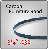 "3/4"" .032 Carbon Furniture Blades"