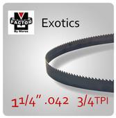 """1 1/4"""" .042 M-FACTOR EX 3/4 TPI"""