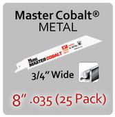 "8"" 035 (25PK) Metal"