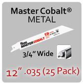 "12"" 035 (25PK) Metal"