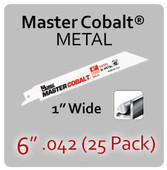 "6"" 042 (25PK) Metal"