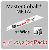 "12"" 042 (25PK) Metal"