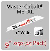 "9"" 050 (25PK) Metal"