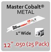 "12"" 050 (25PK) Metal"