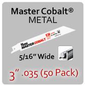 "3"" 035 (50PK) Metal"