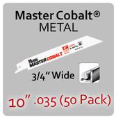 "10"" 035 (50PK) Metal"