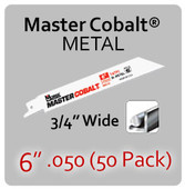 "6"" 050 (50PK) Metal"
