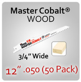 "12"" 050 (50PK) Wood"