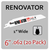 "6"" 062 (20PK) Renovator"