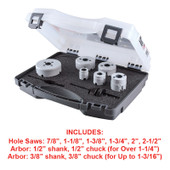 Electricians Hole Saw Kit (8pc)
