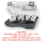 General Purpose Hole Saw Kit (11pc)