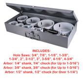 Master Electricians Hole Saw Kit (14pc)