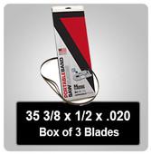 "Standard Bi-Metal 35 3/8"" Port-A-Band (Box of 3)"