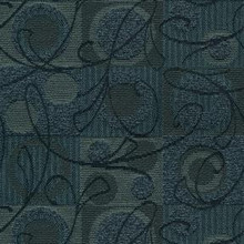 """Crypton Fabric Ambiance 308 Navy - 57% Rayon 43% Recycled Polyester - Exceeds 50,000 Double Rubs. H: 7.2""""(18.2cm) Across the Roll., V: 12.4 """"(31.5cm) Up the Roll. 54"""" (137 cm)  - My Fabric Connection -  Crypton"""