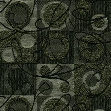 """Crypton Fabric Ambiance 9009 Black - 57% Rayon 43% Recycled Polyester - Exceeds 50,000 Double Rubs. H: -, V: - 54"""" (137 cm)  - My Fabric Connection -  Crypton"""