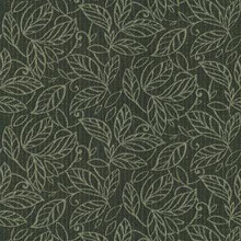 """Crypton Fabric Broadleaf 9009 Black - 8% Polyester 55% Recycled Polyester 23% Rayon 13% Cotton 1% Nylon - Exceeds 60,000 Double Rubs. H: 14.0""""(35.5cm) Across the Roll., V: 16.0 """"(41.0cm) Up the Roll. 54"""" (137 cm)  - My Fabric Connection -  Crypton"""