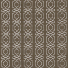 Kasmir Fabric Abacot Taupe 5068 100% Polyester Embroidery Contents 100% Polyester CHINA Not Tested H: 3 4/8 inches, V:3 6/8 inches 57 - 58 - My Fabric Connection - Kasmir