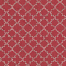 Kasmir Fabric Abberley Trellis Begonia 1440 67% Rayon 33% Polyester CHINA 18,000 Wyzenbeek Double Rubs H: 1 4/8 inches, V:1 4/8 inches 54 - My Fabric Connection - Kasmir