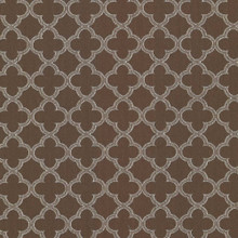 Kasmir Fabric Abberley Trellis Chocolate 1438 67% Rayon 33% Polyester CHINA 18,000 Wyzenbeek Double Rubs H: 1 4/8 inches, V:1 4/8 inches 54 - My Fabric Connection - Kasmir