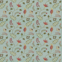 Kasmir Fabric Abberville Azalea 1443 100% Polyester Embroidery Contents 100% Polyester INDIA 30,000 Wyzenbeek Double Rubs H: 13 inches, V:9 4/8 inches 54 - 55 - My Fabric Connection - Kasmir