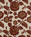 "Barrow Industries Fabric Arquette Cinnabar M8398 10CL05 Signature Red 62% RAYON 20% POLYESTER 18% COTTON China - H: 13-1/2"" V: 13-1/2"" 361 inches minimum (See sample for specs) - My Fabric Connection - Barrow Industries"