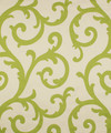 "Barrow Industries Fabric Lovells Island Citrine M9722 15CL02 Design Collection Green And Yellow 61% RAYON (S) 39% POLYESTER (F) China - H: 13 1/2"" V: 27"" 3625 inches minimum (See sample for specs) - My Fabric Connection - Barrow Industries"
