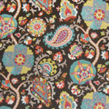 "Greenhouse Design Fabric A6163 Licorice 89% COTTON, 11% RAYON 27"" H, 32"" V 54"" My Fabric Connection Greenhouse Design"