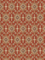 """Fabricut Fabric Preuss Ikat Brick 4547201 CHROMATICS XXII (9 BOOKS) 100% Cotton PAKISTAN SOIL & STAIN REPELLENT FINISH EXCEEDS 15,000 DOUBLE RUBS WYZENBEEK METHOD UFAC CLASS I PASSES """"NFPA 260A"""" CLEANING CODE-S H: 13.5, V: 27 54 - My Fabric Connection -"""