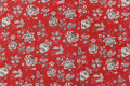"Swavelle Millcreek Fabric Silverdale Redcoat 7 Yards UAE 12,000 WYZENBEEK 17""V 27""H 54 - My Fabric Connection -"