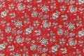 "Swavelle Millcreek Fabric Silverdale Redcoat 7 Yards UAE 12,000 WYZENBEEK 17""V 27""H 54 - My Fabric Connection -"