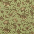 Waverly Suva Chocolate Mist Outdoor Floral Upholstery Fabric 2 3/8 yards