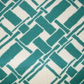 Duralee Fabric 83107 19 Trellis/Lattice Durlinen cc/mir Aqua D2472 Classic Chic 52% Polyester Fr 48% Polyester USA Passes NFPA 701 H:  9.0 V:  8.375 54  - Duralee - My Fabric Connection