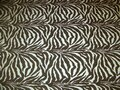 Chenille Exotic Zebra Fabric 4 Yards