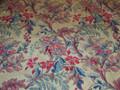 Exotic Floral Scroll Designer Print Fabric 2 1/2 Yards
