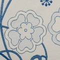 "Duralee Fabric 15101 54 Sapphire Simply Modern 56% Viscose, 44% Polyester Italy 20,000 Martindale Cycles H: 13.75"", V: 17.38"" 54 inches - My Fabric Connection - Duralee"