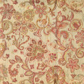 Regal Fabric Mikayla Coral 15 YARD MINIMUM ORDER! 60% Rayon   40% Polyester - Allover Floral with Butterfly  H: 29 inches     V: 19 inches 54  - My Fabric Connection -  Regal