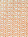 Stroheim Wallpaper Fret Orange 4760704 Dana Gibson Wallcovering 100% Paper U.S.A. Double Rubs: - Untrimmed ; Strippable ; Passes ASTM-E84 ; Ce Mark Certified ; Side Match ; Unpasted ; Exclusive Pattern ; Washable H: 27.00 in (68.58 cm), V: 15.50 in (39.37 cm) 27.00 in (68.58 cm) - My Fabric Connection - Stroheim