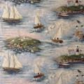 Regal Fabric R6169 Coastal ~ 6 Yards