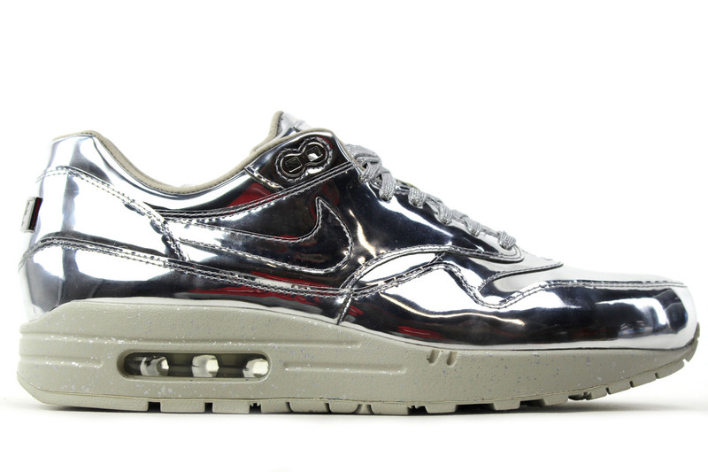a5b3512ae7 ... Nike / AIR MAX 1 SP LIQUID SILVER. Image 1