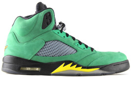 AIR JORDAN 5 OREGON DUCK(SIZE 14)