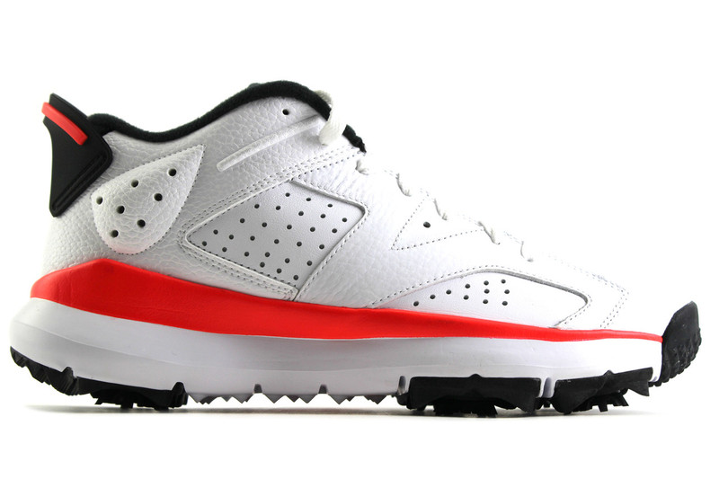 huge selection of 414f3 68f14 AIR JORDAN VI (6) GOLF INFRARED - IndexPDX