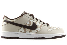 NIKE DUNK LOW LE CAMO SAMPLE 2006