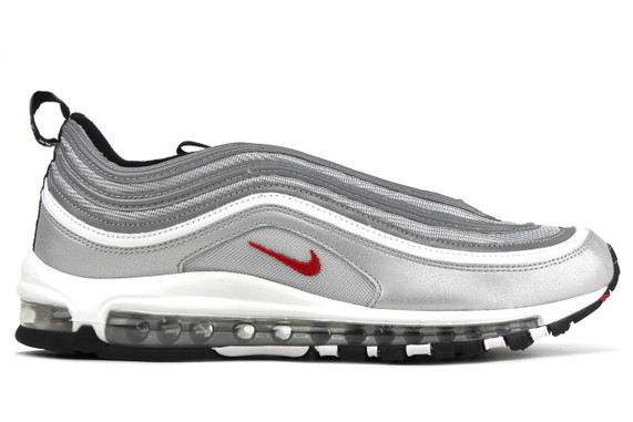 Nike Air Max 97 OG QS Silver Bullet Womens 885691 001 – Fastsole