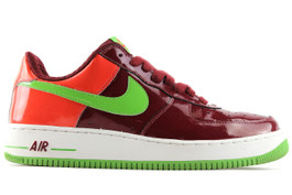 AIR FORCE 1 PREMIUM GREEN ORANGE (SIZE 11)