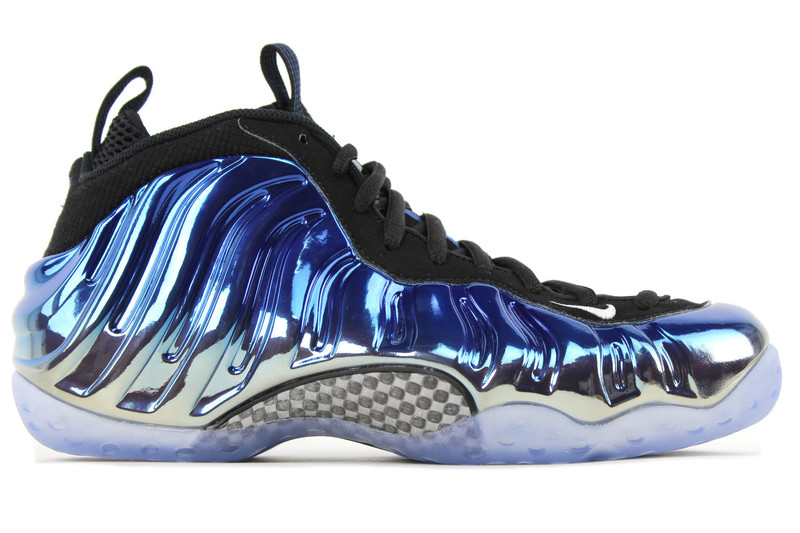 568835a62ff69 ...  AIR FOAMPOSITE ONE PRM BLUE MIRROR. Image 1