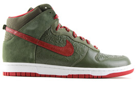 NIKE DUNK HIGH STUSSY ARMY OLIVE