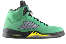 AIR JORDAN 5 RETRO OREGON DUCKS (SIZE 12.5)