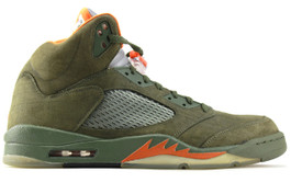 AIR JORDAN 5 RETRO LS OLIVE