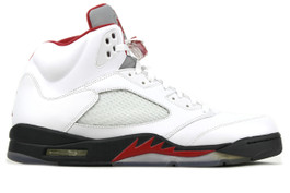 1de8c5fe3db608 AIR JORDAN 5 RETRO FIRE RED 2013 - (SIZE 9)